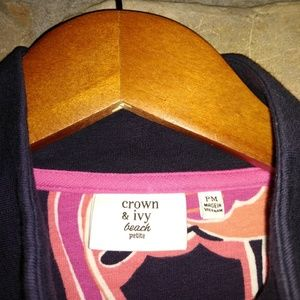 crown & ivy Jackets & Coats - Crown & Ivy full zip light weight jacket.